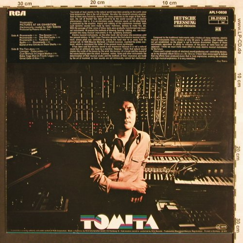 Tomita: Pictures Of An Exhibition, RCA(26.21506), D, 1975 - LP - X3448 - 7,50 Euro