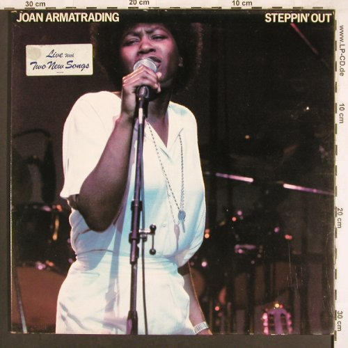 Armatrading,Joan: Steppin'Out, Foc, AM(LH 64789), NL, 1979 - LP - X3451 - 5,00 Euro