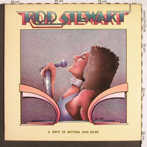 Stewart,Rod: A Shot Of Rhythm & Blues,Foc, Private Stock(PS 2021), US, 1976 - LP - X3452 - 7,50 Euro