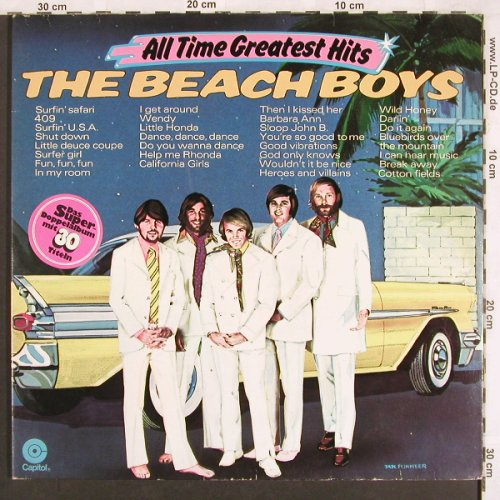 Beach Boys: All Time Greatest Hits, Foc, Capitol(134EVC 81675/76), D,  - 2LP - X3456 - 7,50 Euro