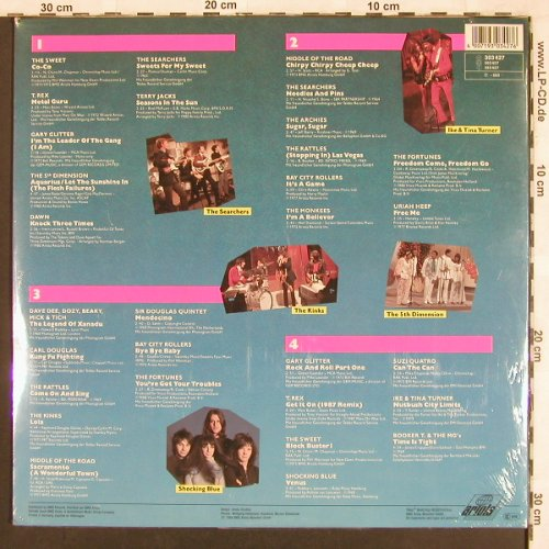 V.A.Oldies Today: Sweet...Shocking Blue, 30 Tr., Foc, Ariola(303 427), D, FS-New, 1988 - 2LP - X3461 - 6,00 Euro