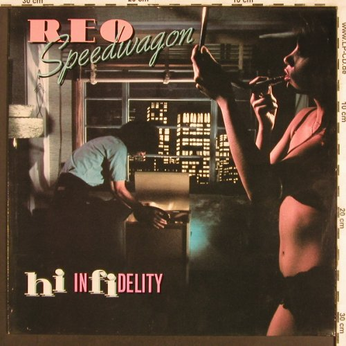 Reo Speedwagon: Hi In Fidelity, Epic(EPC 32 538), NL, 1980 - LP - X3469 - 5,50 Euro
