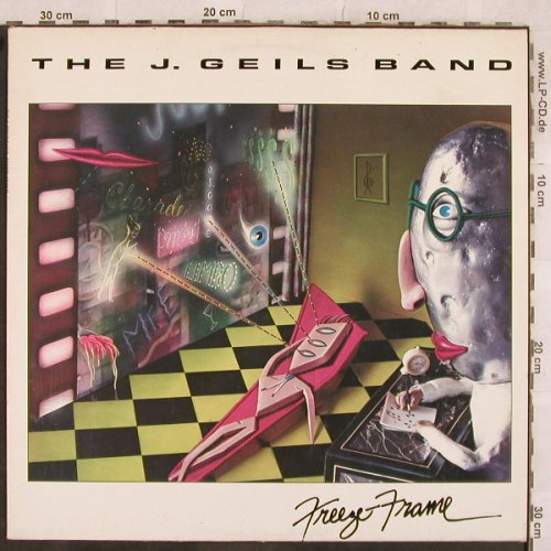 Geils Band,J.: Freeze-Frame, EMI(291385), D,Club Ed., 1981 - LP - X352 - 5,00 Euro
