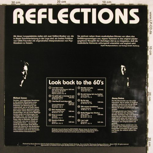 Reflections: Look back to the 60's, Saphir(90 SPR 001), D,  - LP - X3807 - 9,00 Euro