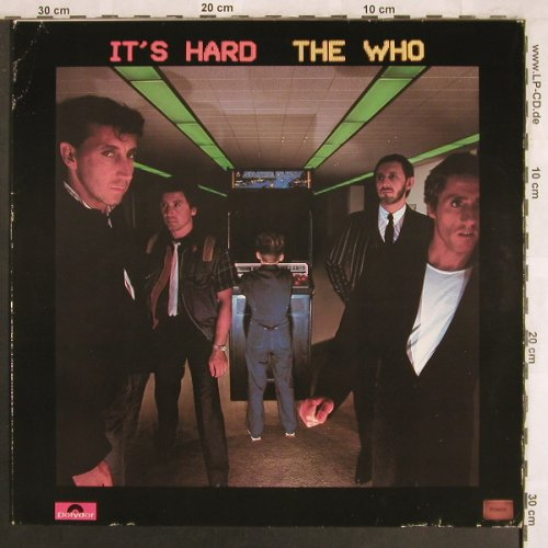 Who: It's Hard, m-/vg+, Polydor(2311 180), D, 1982 - LP - X3905 - 5,50 Euro