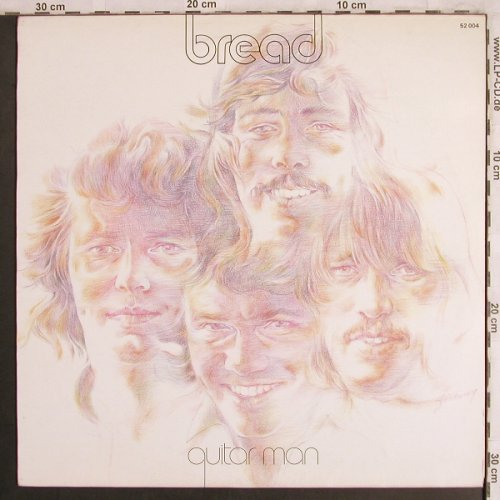 Bread: Guitar Man, Elektra(52 004), D, 1972 - LP - X4041 - 9,00 Euro