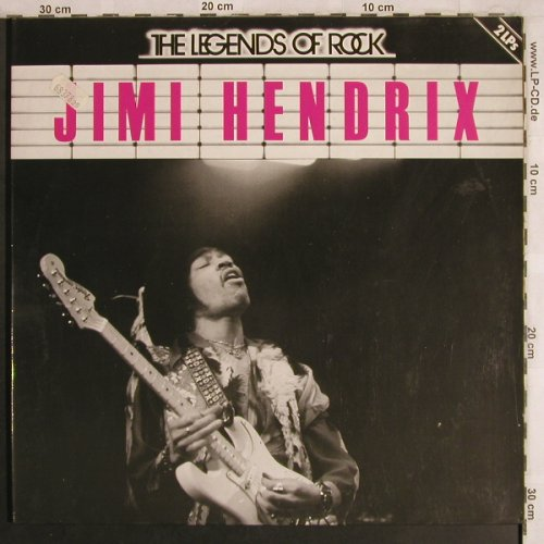 Hendrix,Jimi: The Legends Of Rock, Foc, Strand(6.28530 DP), D, 1981 - 2LP - X4045 - 12,50 Euro