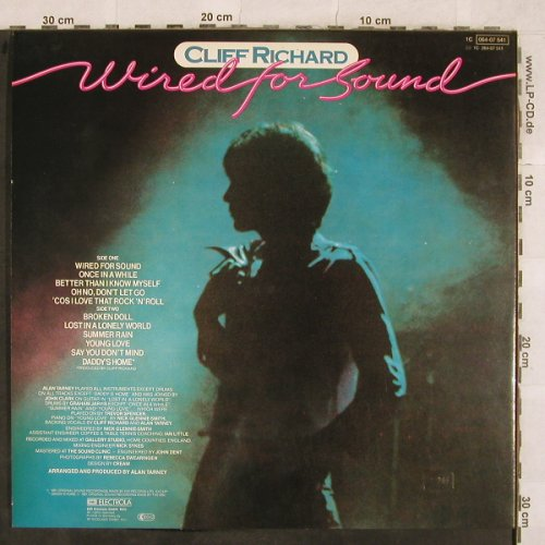 Richard,Cliff: Wired For Sound, EMI(064-07 541), D,Facts, 1981 - LP - X405 - 7,50 Euro