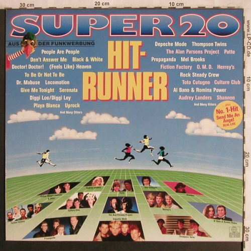 V.A.Super 20  - Hit Runner: Depeche Mode...S.Waggershausen, Ariola(206 355-502), D, 1984 - LP - X4067 - 4,00 Euro