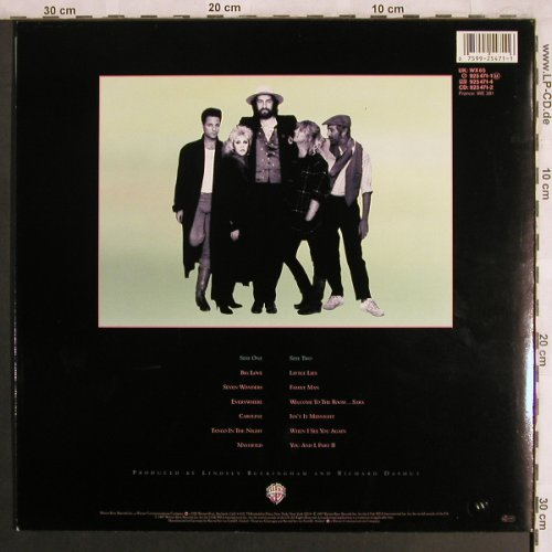 Fleetwood Mac: Tango In The Night, WB(925 471-1), D, 1987 - LP - X4083 - 6,00 Euro