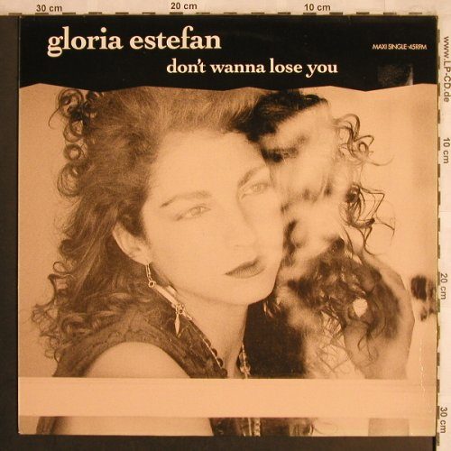 Estefan,Gloria: Don't Wanna Lose You+2, Epic(655054 6), NL, 1989 - 12inch - X4185 - 2,50 Euro