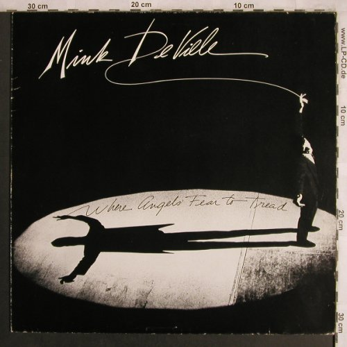 De Ville,Mink: Where Angels Fear To Tread, m-/vg+, Atlantic(78-0115-1), D, 1983 - LP - X4201 - 5,00 Euro