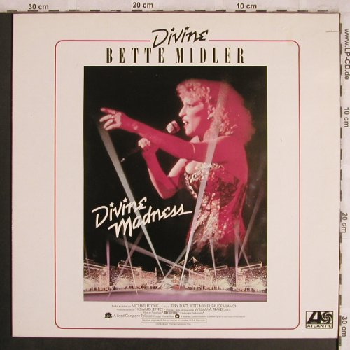 Midler,Bette: Divine Madness, co,  OST, Atlantic(ATL 50 760), D, 1980 - LP - X4248 - 4,00 Euro