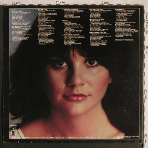 Ronstadt,Linda: Prisoner In Disguise, Foc, m-/vg+, Asylum(AS 53 015), D, 1975 - LP - X4253 - 5,00 Euro