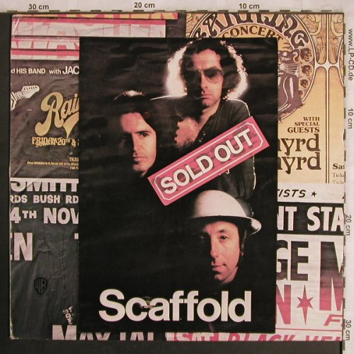 Scaffold: Sold Out, Wh.Muster, m-/vg+, WB(WB 56 097), D, 1975 - LP - X4259 - 6,00 Euro
