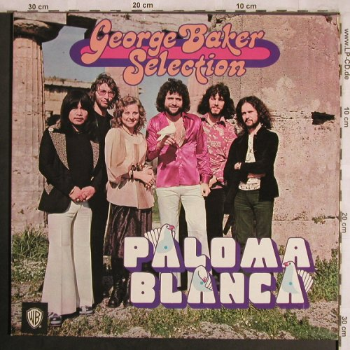 Baker Selection,George: Paloma Blanca, Foc,wh.Anpressung, WB(WB 56 136), D,Facts, 1975 - LP - X4262 - 5,50 Euro
