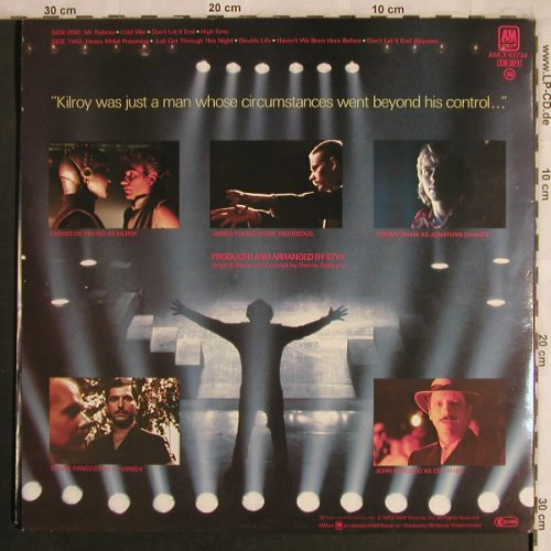 Styx: Kilroy Was Here,Foc, AM(LX63734), NL, 1983 - LP - X4287 - 6,00 Euro