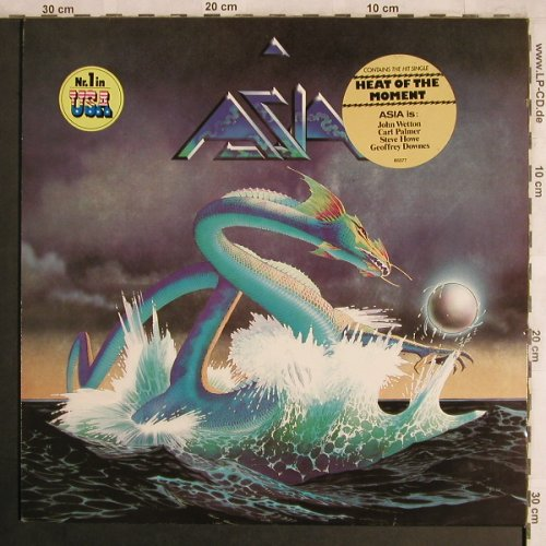 Asia: Same , incl.Heat of the Moment, Geffen(GEF 85577), D, 1982 - LP - X4328 - 4,00 Euro