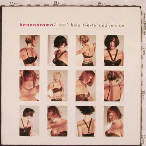Bananarama: I Can't Help It +1(remix), Metronome(886 242-1), D, 1987 - 12inch - X433 - 3,00 Euro