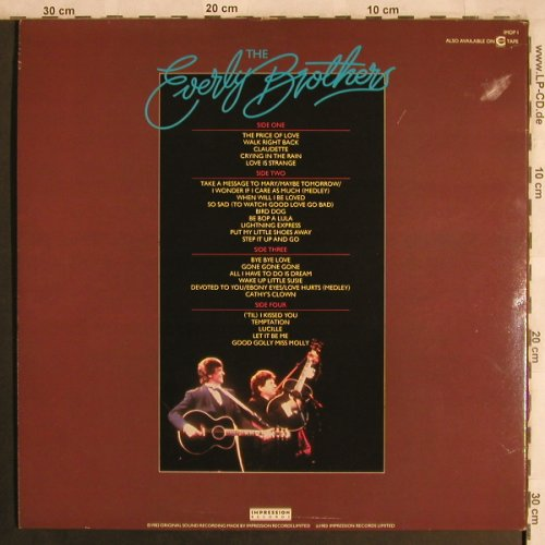 Everly Brothers: Reunion Concert,Foc, Impression(IMDP 1), UK, 1983 - 2LP - X4345 - 7,50 Euro