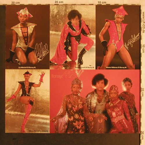 Boney M.: Nightflight To Venus-Postcard, Hansa(), D, 1978 - Postc. - X4355 - 2,50 Euro