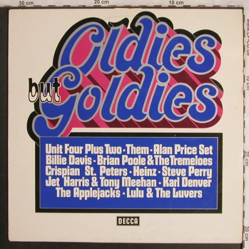 V.A.Oldies but Goldies: Heinz...Them, Wh.Muster, m-/vg+, Decca(ND 821), D, 1973 - LP - X4424 - 7,50 Euro