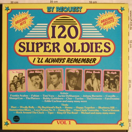 V.A.120 Super Oldies Vol.1: Little Richard...Teen Quees, Box, ARC Records(001-80/006-80), NL,  - 6LP - X4435 - 9,00 Euro