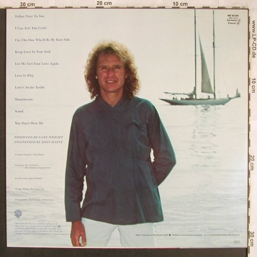 Wright,Gary: Headin'Home, Facts, WB(WB 56 585), D, 1979 - LP - X4477 - 5,00 Euro