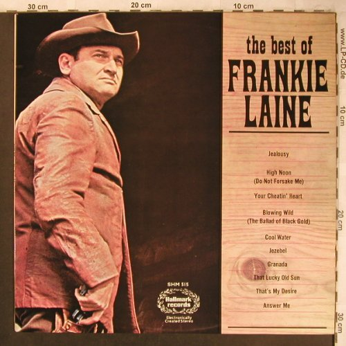 Laine,Frankie: The Best Of, Hallmark(HM 515), UK, 1967 - LP - X4507 - 5,50 Euro