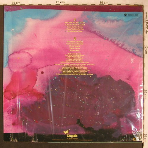 Sir Douglas Quintet: Border Wave, Chrysalis(203 258-320), D, 1981 - LP - X4513 - 6,50 Euro