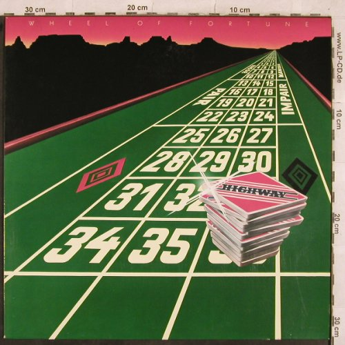 Highway: Wheel Of Fortune, Pinball(6.23968 AP), D, 1979 - LP - X452 - 6,00 Euro