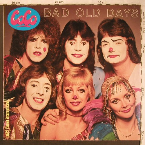 Coco: Bad Old Days, Hansa(26 128 OT), D, 1978 - LP - X4567 - 5,00 Euro