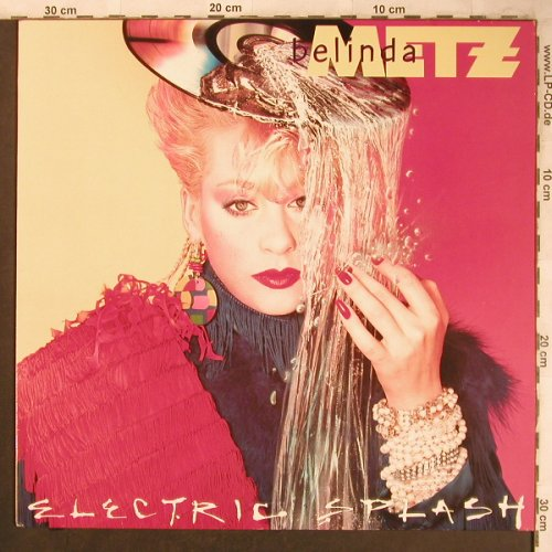 Metz,Belinda: Electric Splash, Global(207 035-620), D, 1985 - LP - X4574 - 5,50 Euro
