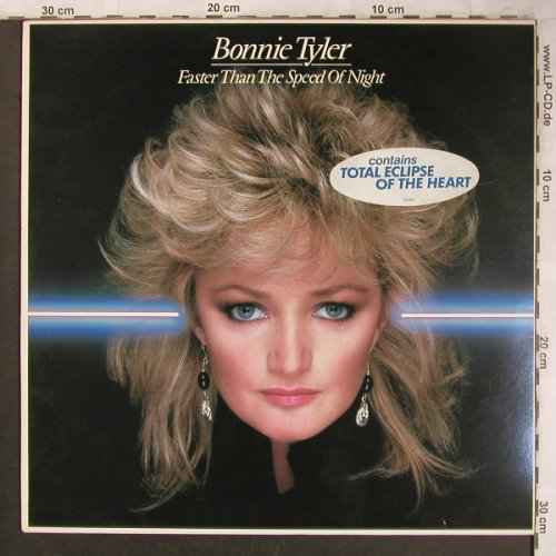 Tyler,Bonnie: Faster than the Speed of Light, CBS(CBS 25 304), NL, 1983 - LP - X4581 - 6,00 Euro