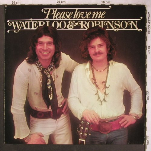 Waterloo & Robinson: Please Love Me, Atom(500.014), A, 1975 - LP - X4584 - 7,50 Euro