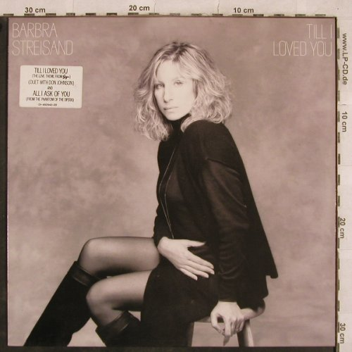 Streisand,Barbra: Till I Loved You, CBS(462943 1), NL, 1988 - LP - X459 - 4,00 Euro