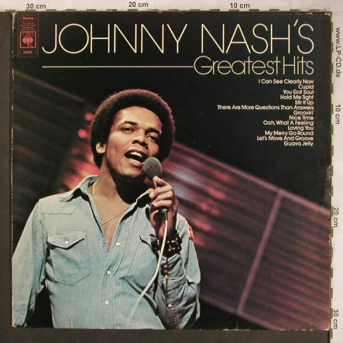 Nash,Johnny: Greatest Hits, m-/vg+, CBS(CBS 69 096), NL, 1974 - LP - X4604 - 5,00 Euro