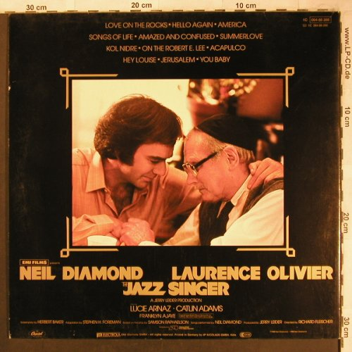 Diamond,Neil: The Jazz Singer,Foc, Capitol(064-86 266), D, 1980 - LP - X4662 - 5,00 Euro