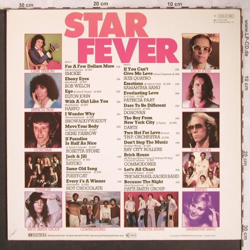 V.A.Star Fever: Smokie...Patti Smith Group, EMI(058-32 988), D, 1978 - LP - X4714 - 4,00 Euro