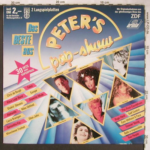 V.A.Peter's Pop-Show: Europe...Münchener Freiheit, Ariola(303 344 551), D, co, 1988 - 2LP - X4771 - 5,50 Euro