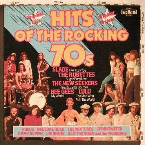 V.A.Hits Of The Rocking 70s: Rubettes...Springwater, Pickwick Contour(CN 2011), UK,  - LP - X4840 - 5,00 Euro