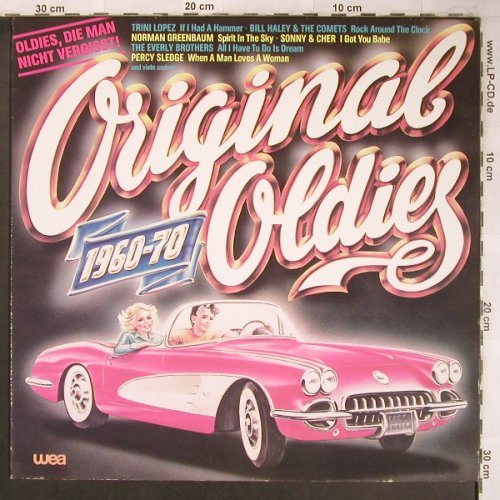 V.A.Original Oldies 1960-70: Wheels...Percy Sledge, WEA(WEA 28 300), D, 1982 - LP - X4866 - 4,00 Euro
