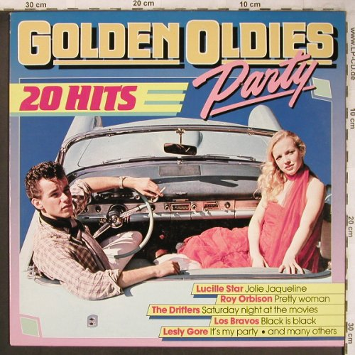 V.A.Golden Oldies Party: Lucille Star...Swining Blue Jeans, Universum Music(UN 1812008), ,  - LP - X4867 - 5,00 Euro