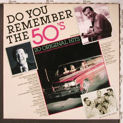 V.A.Do You Remember the 50's: TV Happy Days...Lee Dorsey, Juke Box Int.(0012/177602R), ,  - LP - X4870 - 5,00 Euro