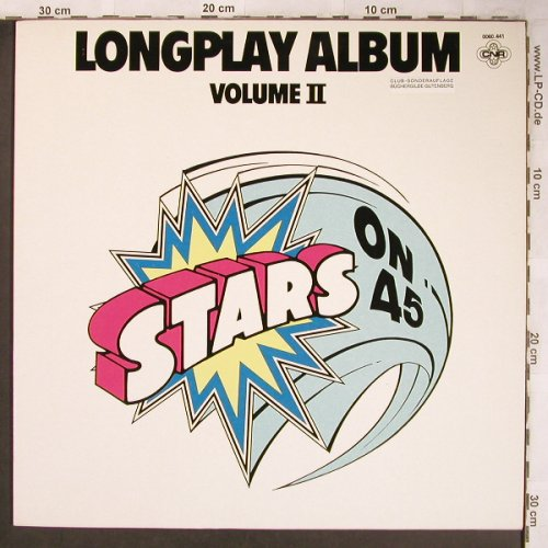 Stars On 45: Longplay Album II, CNR(0060.441), , 1981 - LP - X4909 - 5,00 Euro