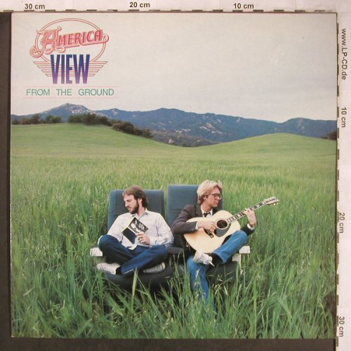 America: View From The Ground, Capitol(064-400111), NL, 1982 - LP - X4949 - 6,00 Euro