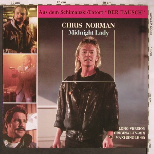 Norman,Chris: Midnight Lady +1, Hansa(607 961-213), D, 1986 - 12inch - X4950 - 4,00 Euro