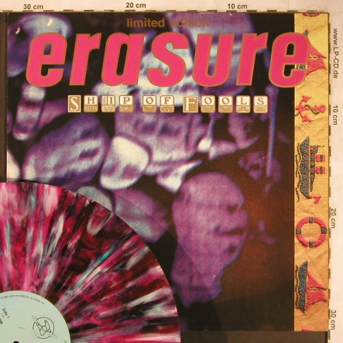 Erasure: Ship Of Fools,RCmix+2,col.Vinyl, Mute(INT 126.879), D,LimEd., 1988 - 12inch - X4980 - 5,00 Euro