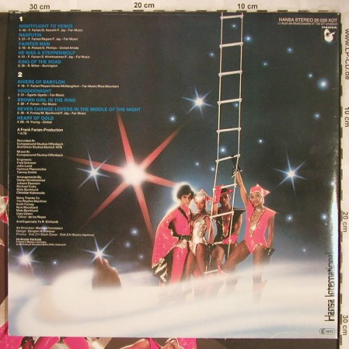 Boney M.: Nightflight To Venus, Foc+Postcards, Hansa(26 026 XOT), D, 1978 - LP - X4993 - 6,00 Euro