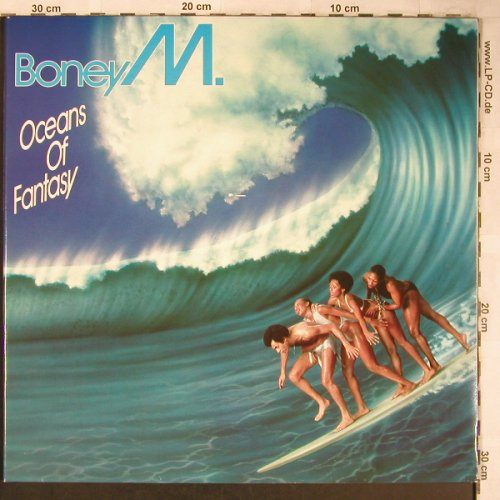 Boney M.: Oceans Of Fantasy, Foc², Hansa(200 888-320), D, 1979 - LP - X5006 - 6,00 Euro